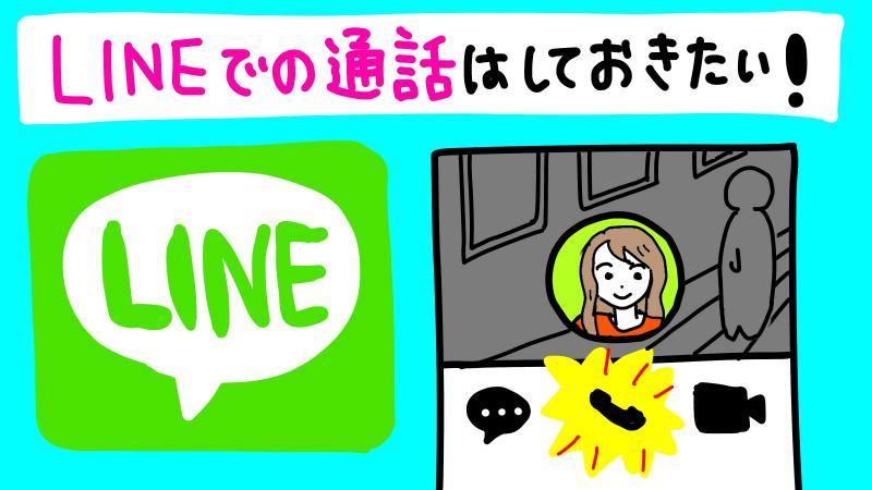 LINE電話について